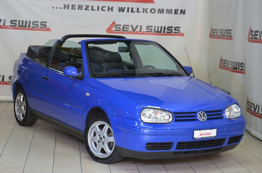 VW Golf Cabriolet 2000 Highline Sunshine