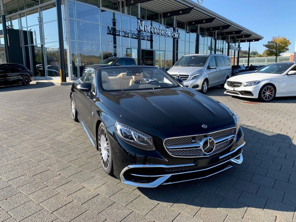 Mercedes-Benz S 650 Maybach 7G-Tronic