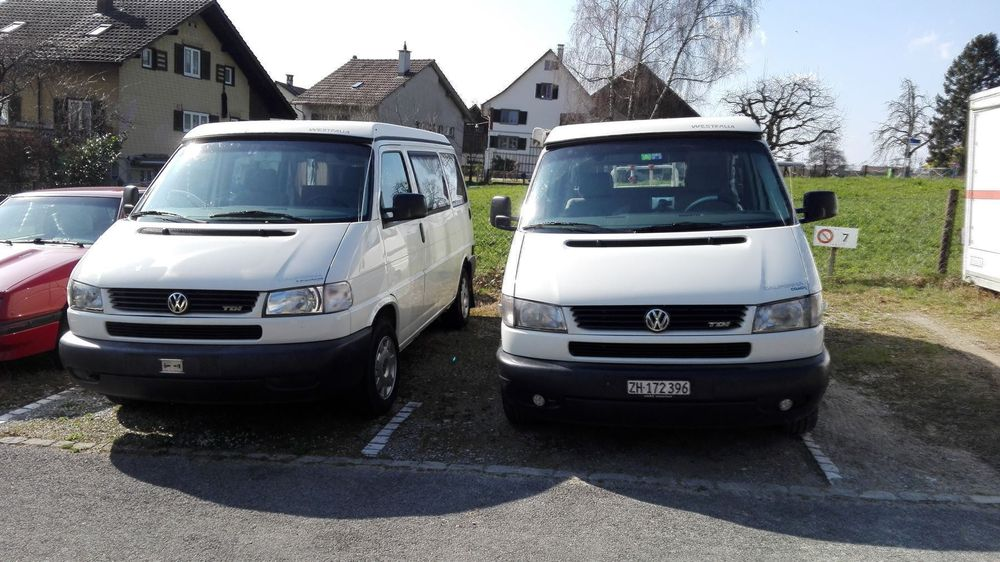 VW T4 California Camper zum mieten, only to rent
