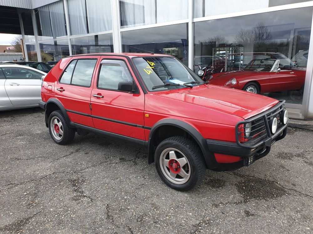 VW Golf 1800 Country syncro