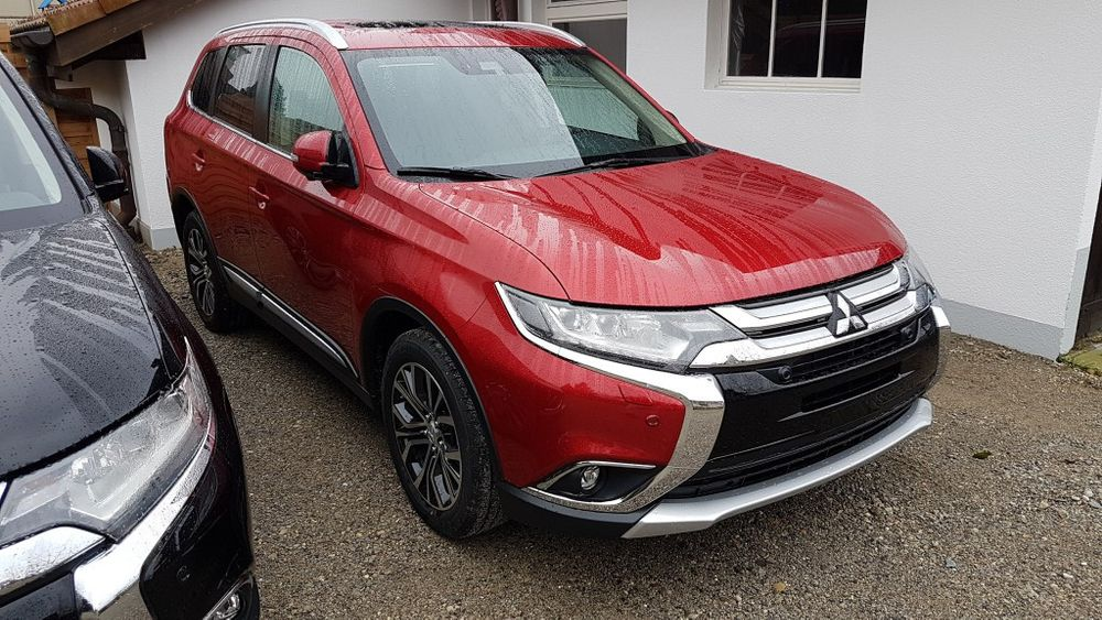 Mitsubishi Outlander 2.2DID Final Edition mit 2.0t