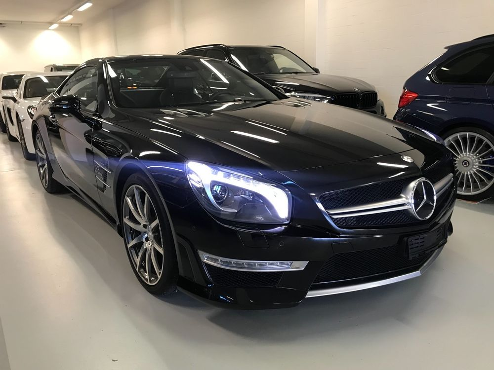 Mercedes-Benz SL 63 AMG Speedshift