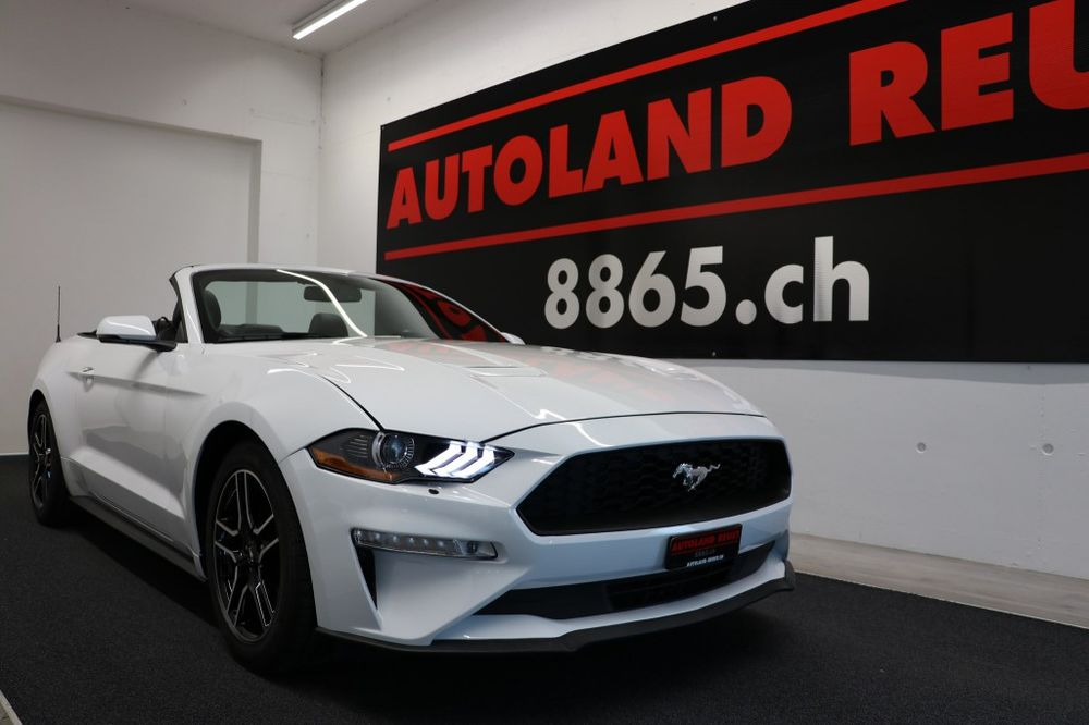 Ford MUSTANG 2.3 ECO Boost Convertible 290PS