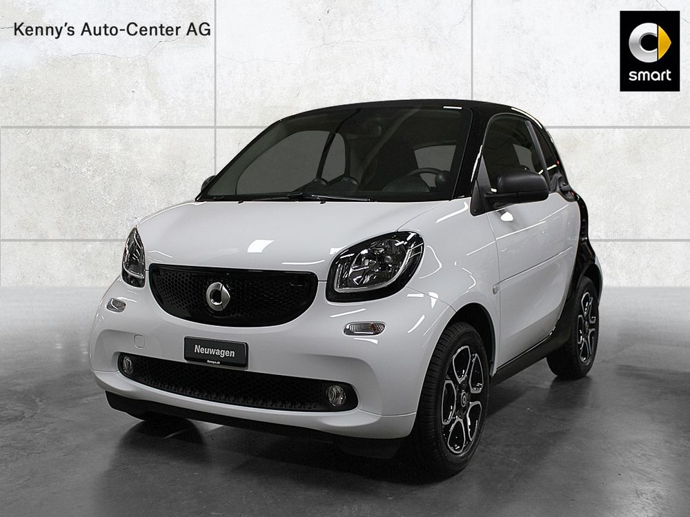 Smart Fortwo coupé citypassion 90PS twinamic