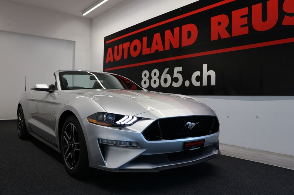 Ford MUSTANG Convertible 5.0 V8 GT 451PS