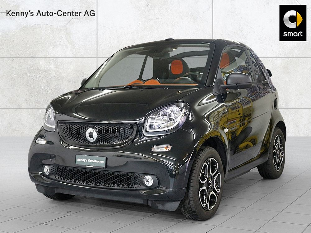 Smart Fortwo cabrio passion 90PS twinamic