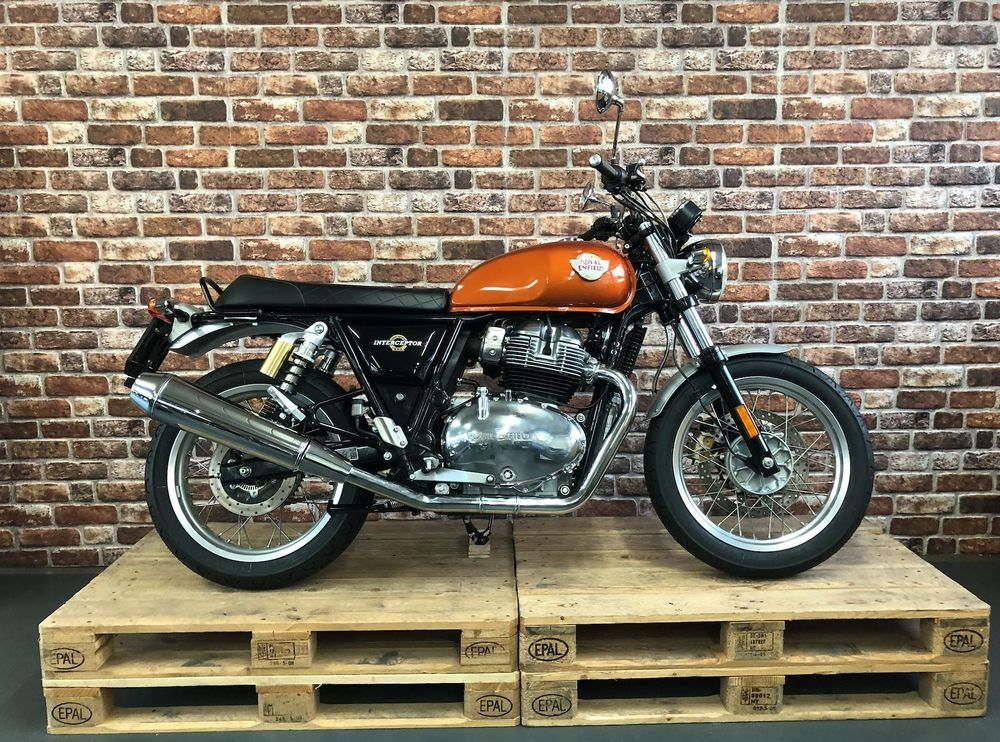 ENFIELD/ROYAL-ENFIELD Interceptor INT 650 Twin Motos Wernli