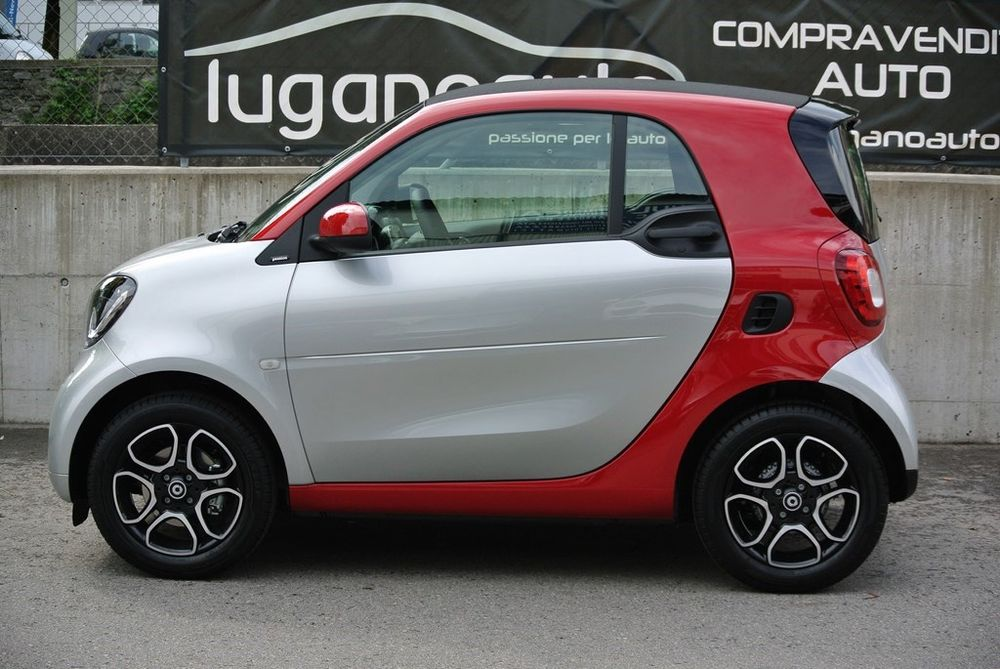 Smart fortwo citypassion twinmatic