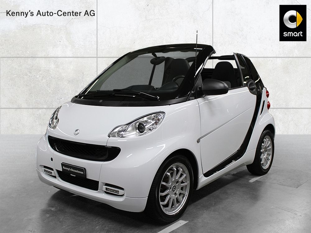 Smart Fortwo cabrio city light edition 71PS