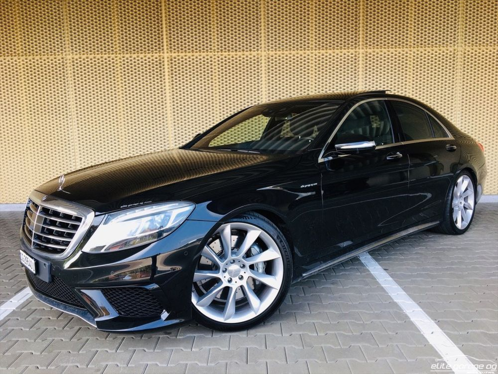Mercedes-Benz S 63 AMG Speedshift MCT
