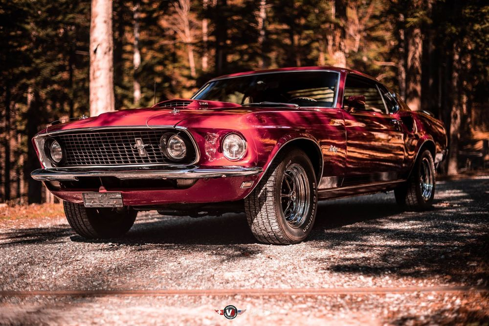 FORD (USA) Mustang GT Fastback, 351W, TOP ORIGINAL ZUSTAND