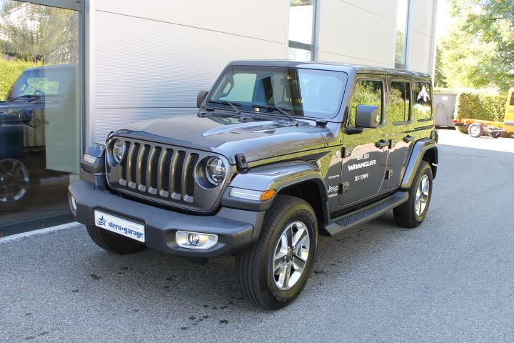 Jeep Wrangler 2.2 MJ Sahara Unlimited