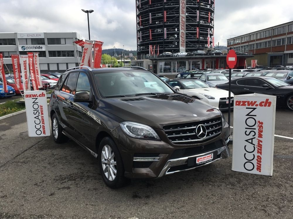 Mercedes ML 350 BlueTEC 4Matic G-Tronic Automat