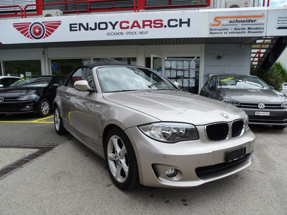 BMW 118i Cabrio Steptronic