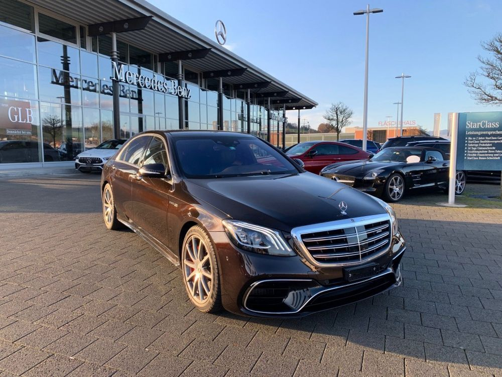 Mercedes-Benz S 63 AMG L 4Matic+ 9G-Tronic
