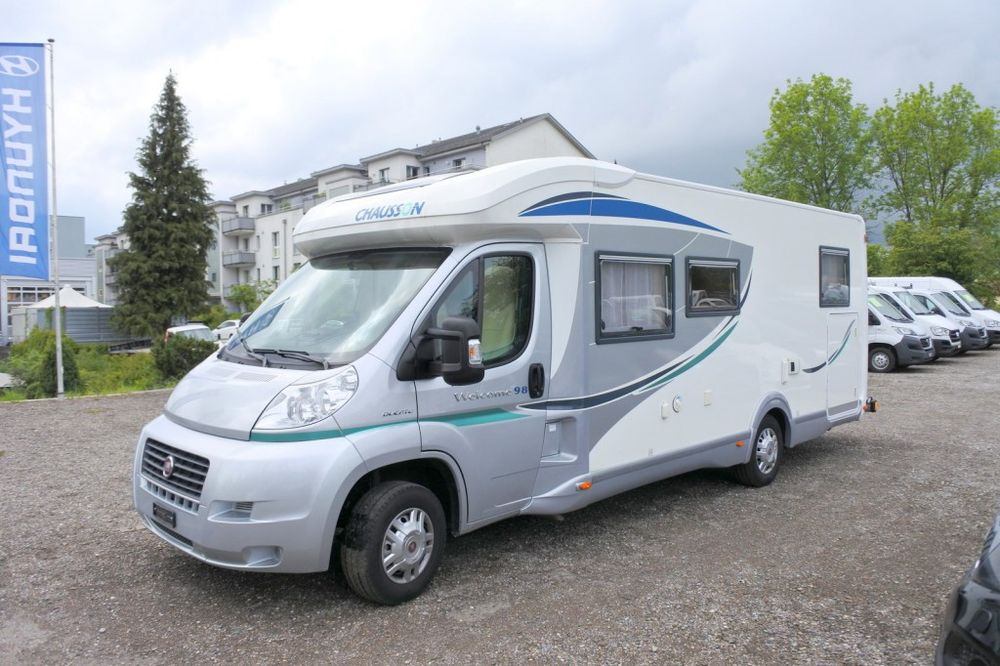 Fiat Ducato Chausson Welcome 98 ( Wohnmobil)