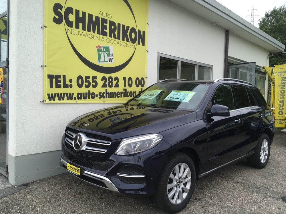 Mercedes GLE 250d 4Matic 204PS G-Tronic-Autom.