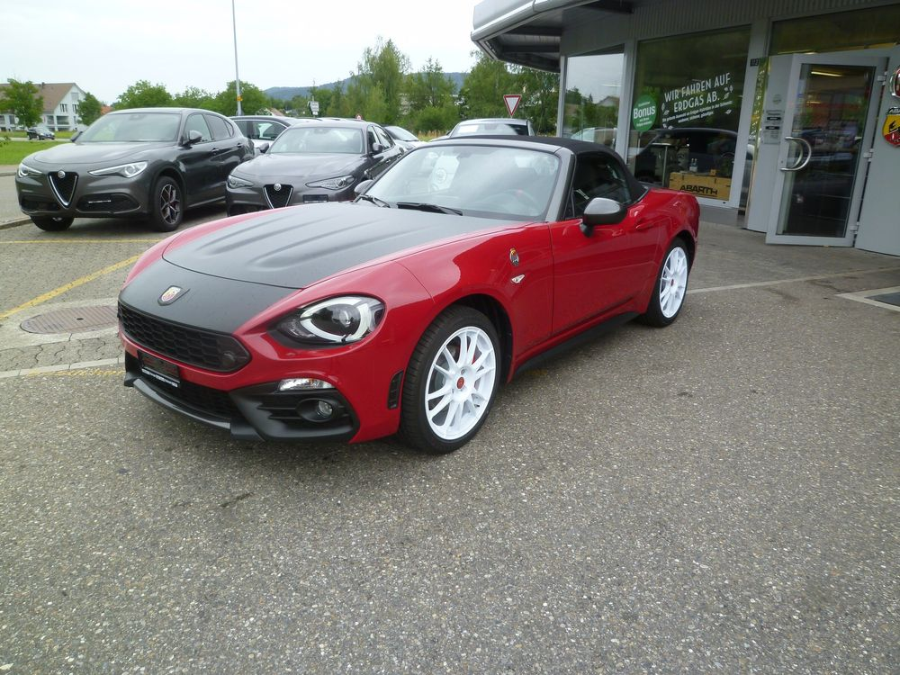 Fiat 124 Spider 1.4 TB Abart Rally