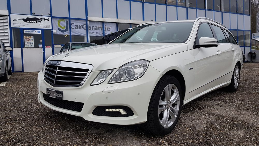 Mercedes-Benz E 350 CDI BlueEfficiency Avantgarde 7G-