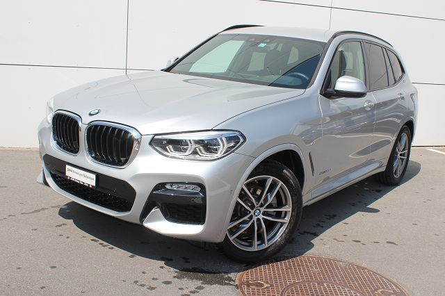 BMW X3 20d xDrive paddles