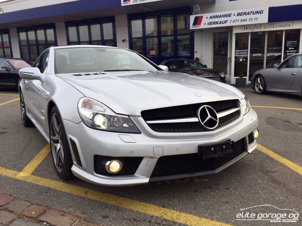Mercedes-Benz SL 65 AMG Speedshift