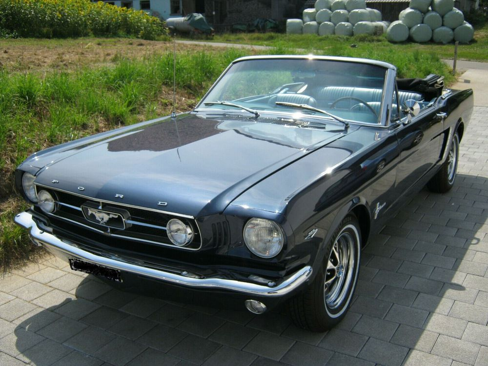 FORD Mustang Cabrio 289cui V8 A-Code