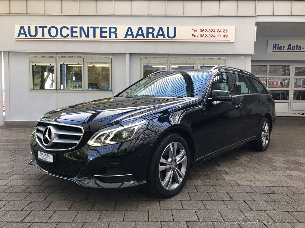 Mercedes-Benz E 350 BlueTEC Avantgarde 4Matic 7G-Tron