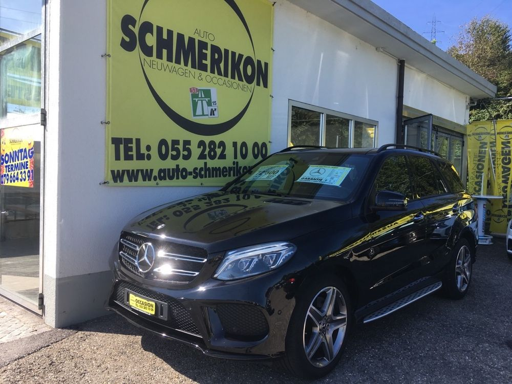 Mercedes GLE 500 4Matic AMG-Line 455PS G-Tronic