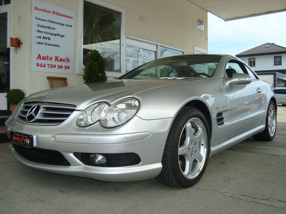 Mercedes-Benz SL 55 AMG Automatic