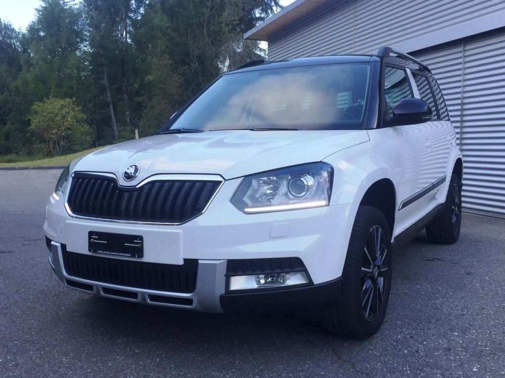 Skoda Yeti 2.0 TDI Outdoor Adventure 4x4 DSG