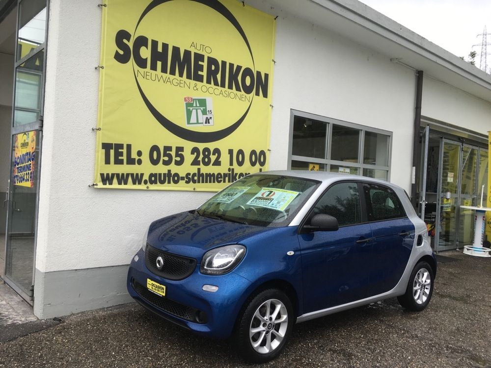 Smart ForFour 1.0i 5-Türer 5-Gang 71PS