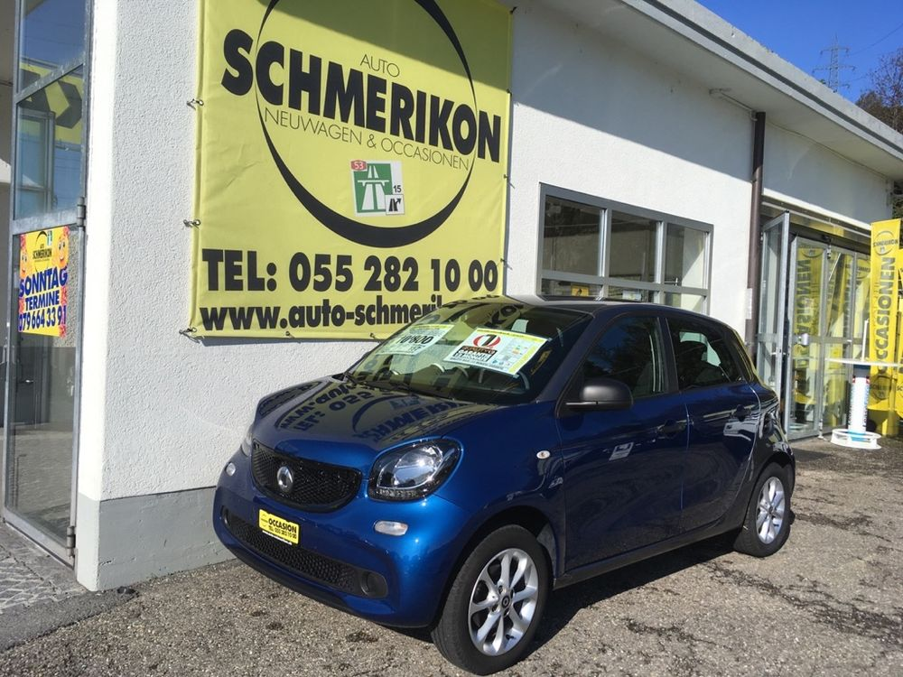 Smart ForFour Twinmatic-Automat 71PS
