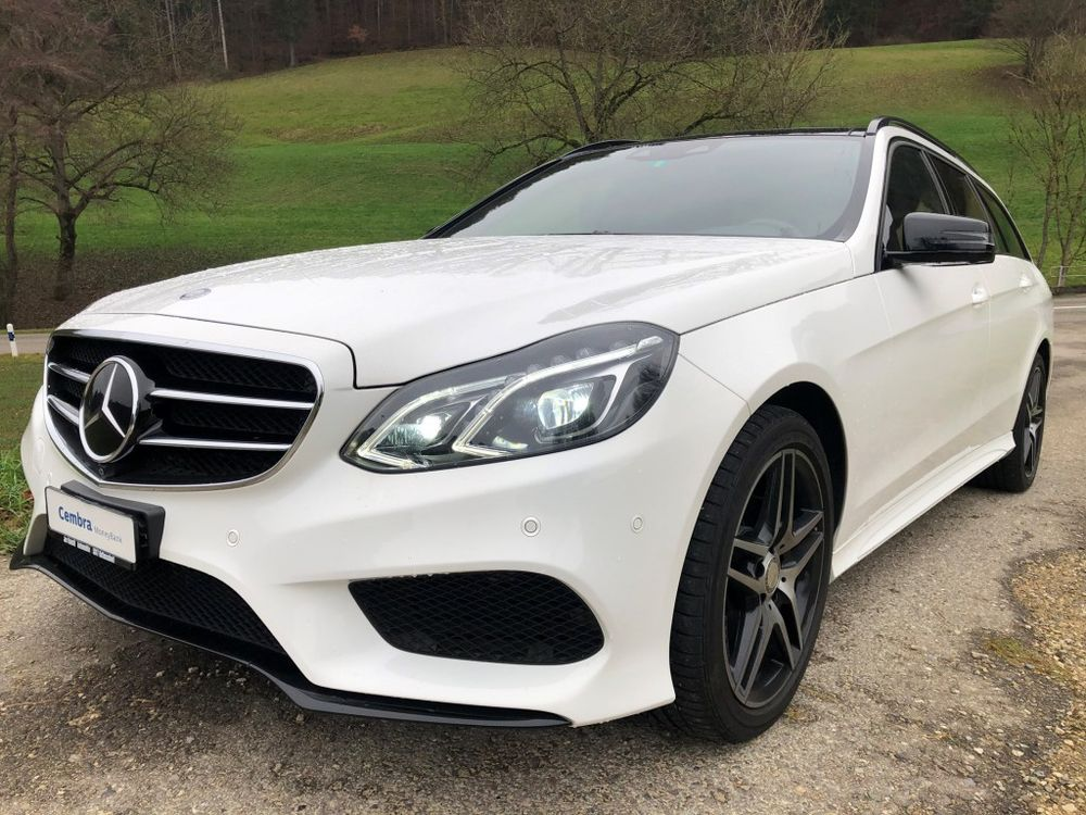 Mercedes-Benz E 250 BlueTEC Avantgarde 4Matic 7G-Tron