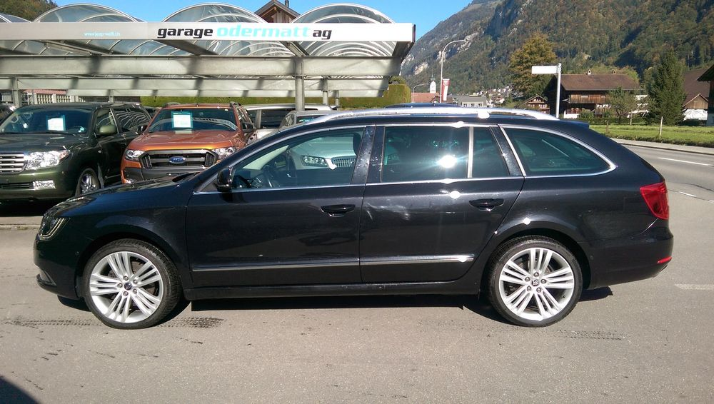 Skoda Superb Combi 2.0 TDi Business 4x4 DSG