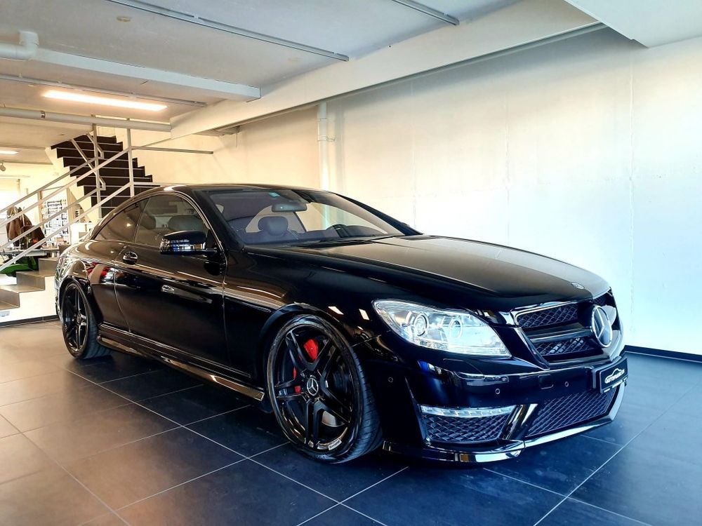 Mercedes-Benz CL 63 AMG Speedshift MCT