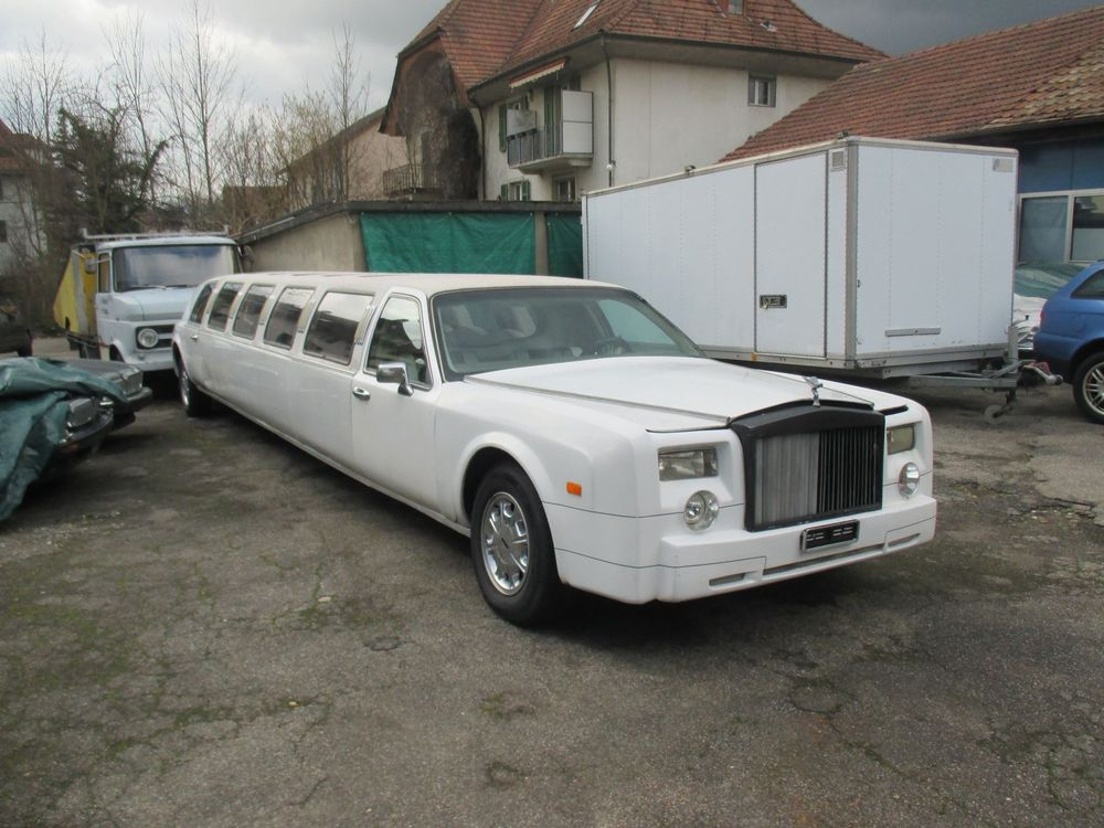 LINCOLN LINCOLN Continental  Rolls Royce Phantom Stretchlimo
