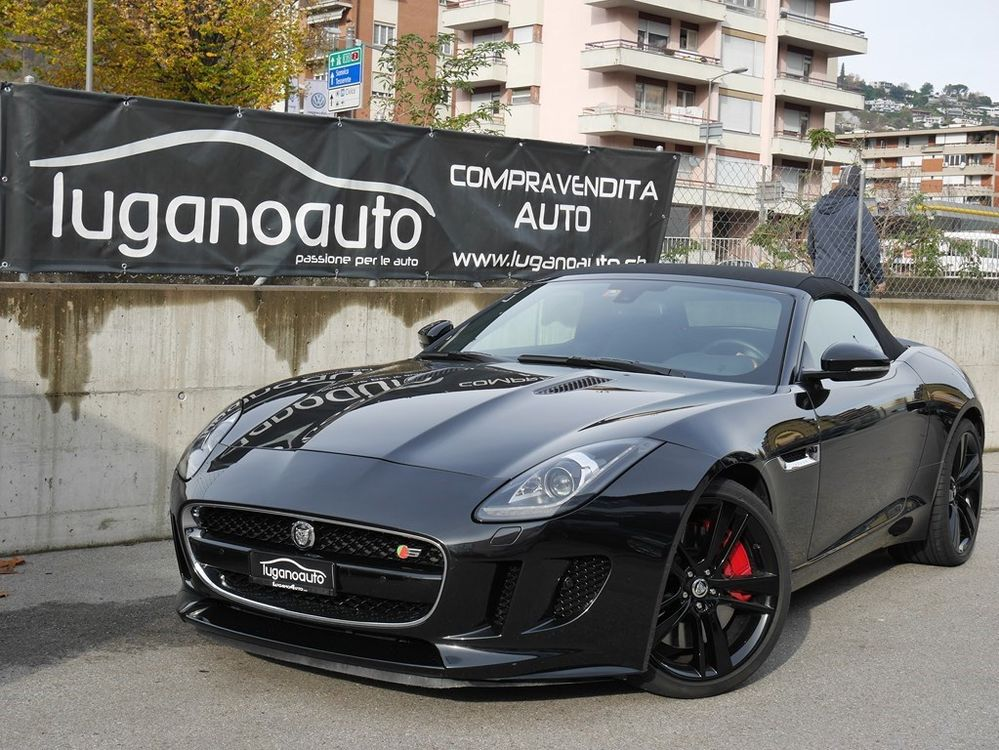 Jaguar F-Type Convertible S 3.0 V6 S/C