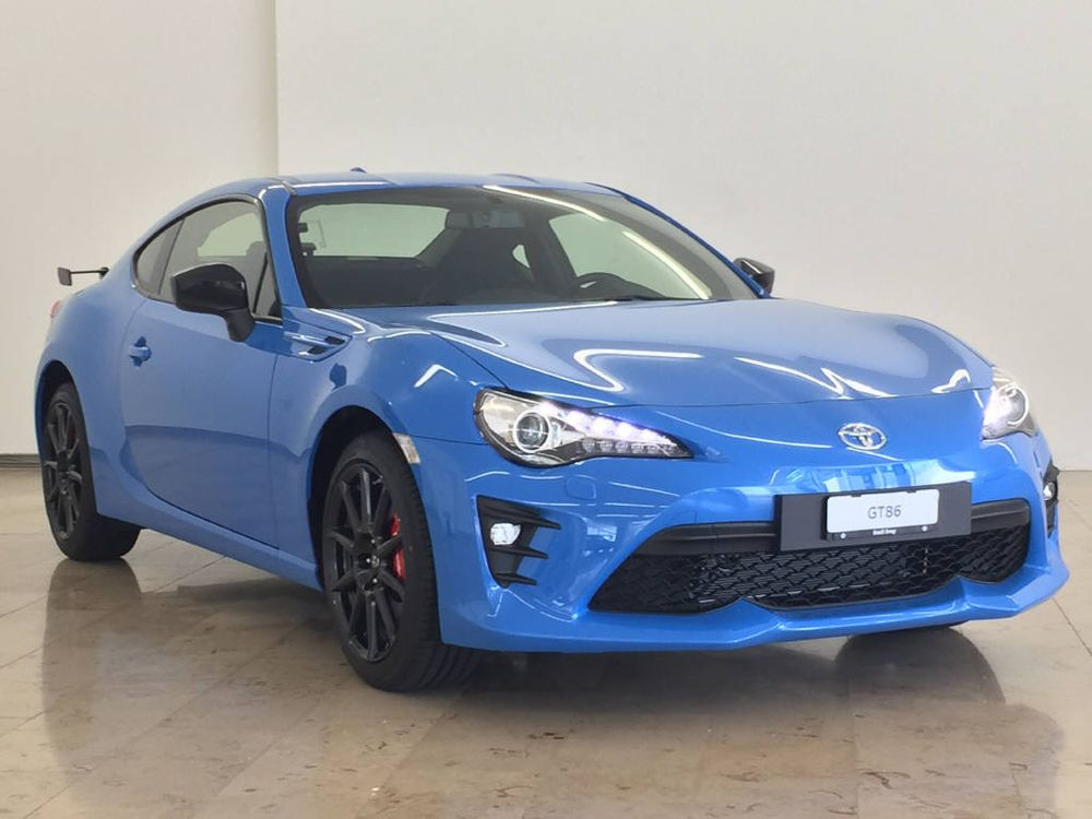 Toyota GT86 2.0 D-4S Black Touch Edition