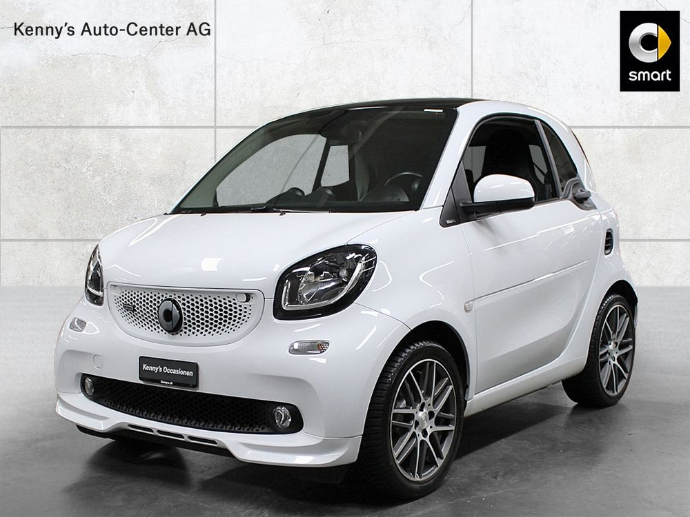 Smart Fortwo coupé Brabus 109PS twinamic