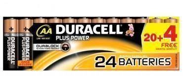 Batterien Duracell Plus Power / Aktion