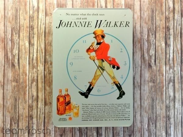 Blechschild - Johnnie Walker