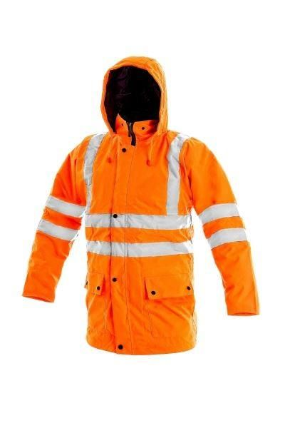 "Orange Sicherheitsjacke ""Oxford"" ( M )"