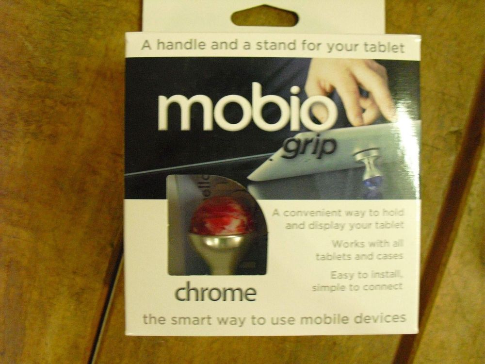 2xMobio Grip Chrome/Red Jet/Black Tablet