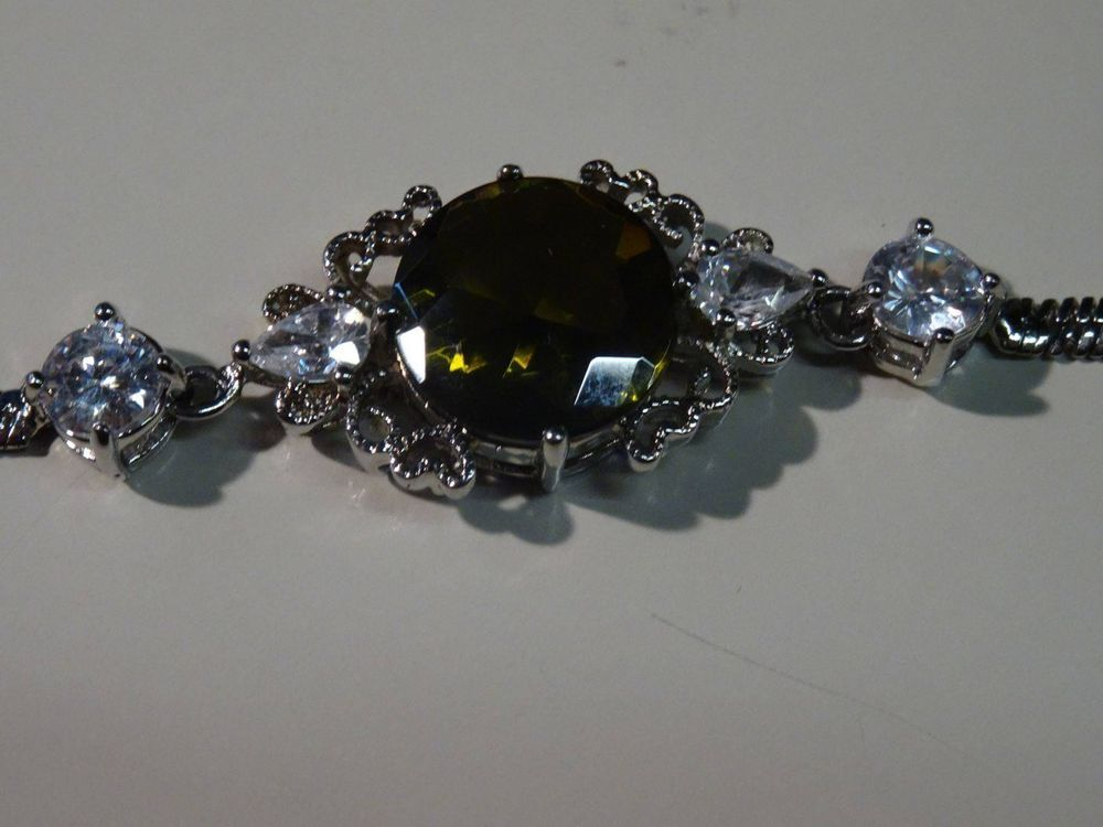 14 ct. Weissgold-Armband