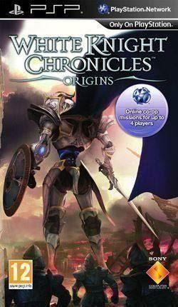 PSP+White Knight Chronicles: Origins+DE
