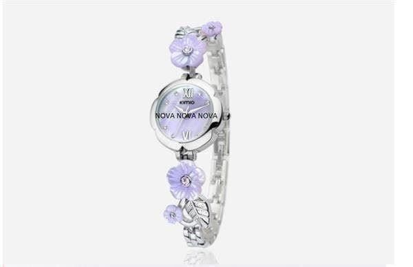 "Original KIMIO Watch ""FLOWER"" Lila"