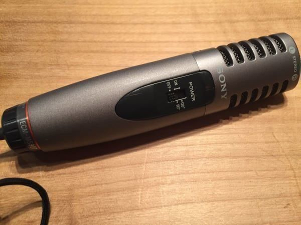 Electred Condenser Microphone Sony 1