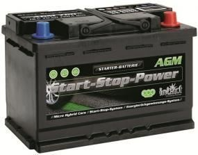 Autobatterie intAct Start-Stop AGM 70Ah