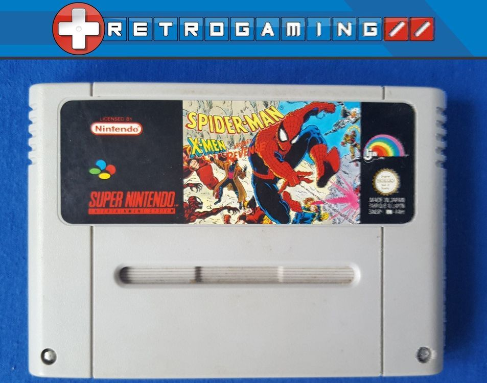 [Snes] Spider-Man X-Men Arcade's Revenge