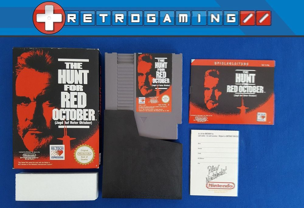 [Nes] The Hunt for Red October
